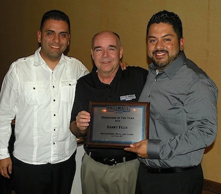 Owner in Ventura, California honored as Pro Image Sports Franchisee of the Year.