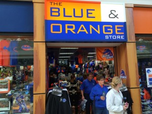The Blue & Orange Store featuring exclusively Boise State product was an idea hatched by Travis that has proven to be the most successful store in the Pro Image Sports system over the past eight years.
