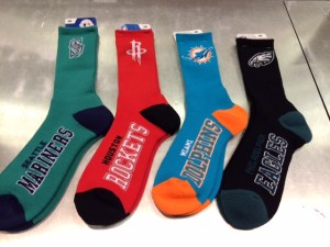 Every fan loves representing their team, and now the options with team socks from For Bare Feet are limitless.