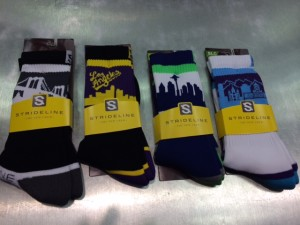 Strideline is the newest kid to the party, and have had a quick impact on sales with their city skyline styles.