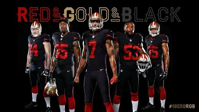 San Francisco 49ers Unveils New Alternate Jersey