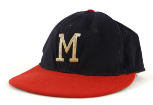 Milwaukee Braves cap from the 1960s