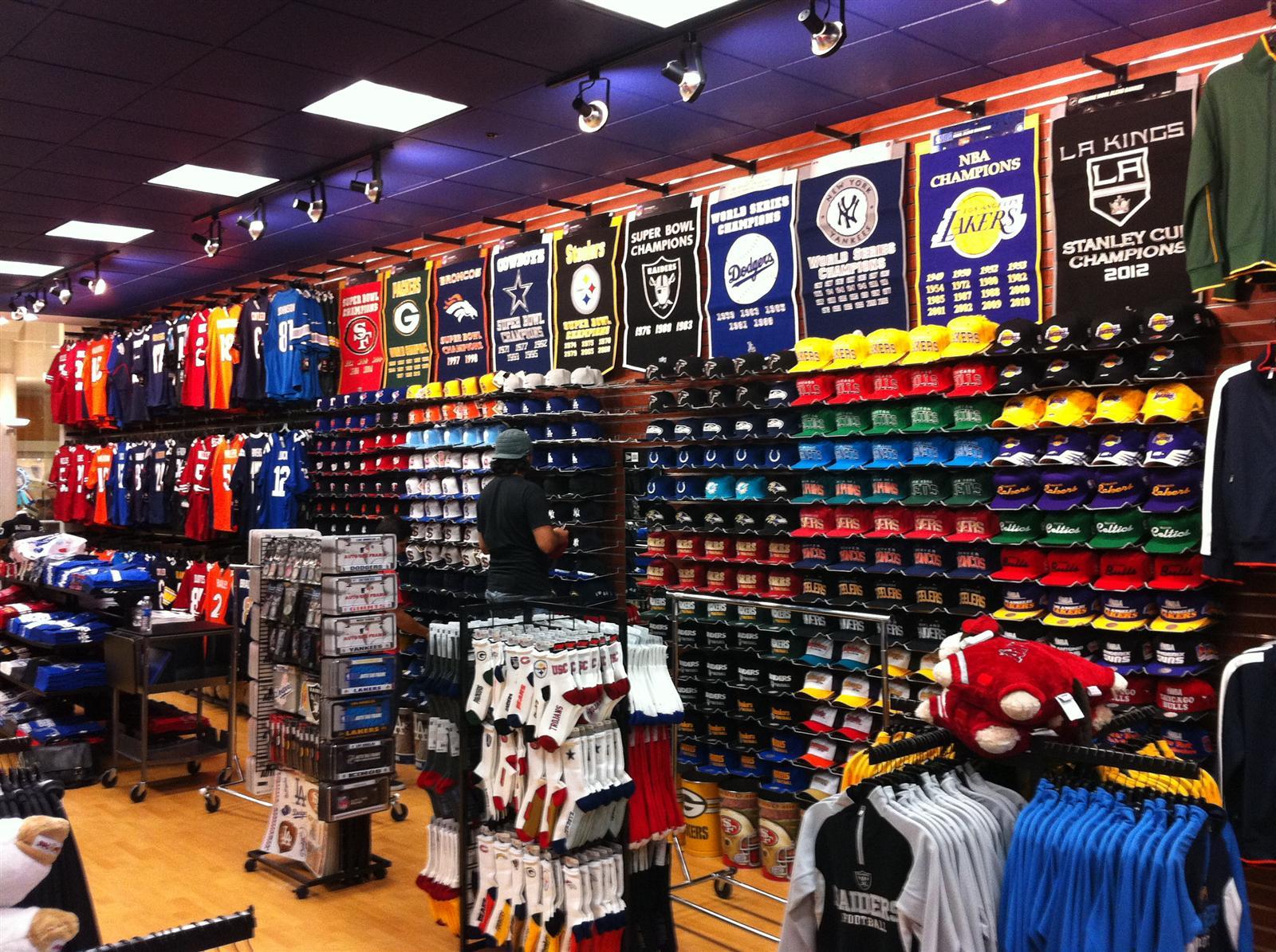 Fashion Square Mall Sports Store