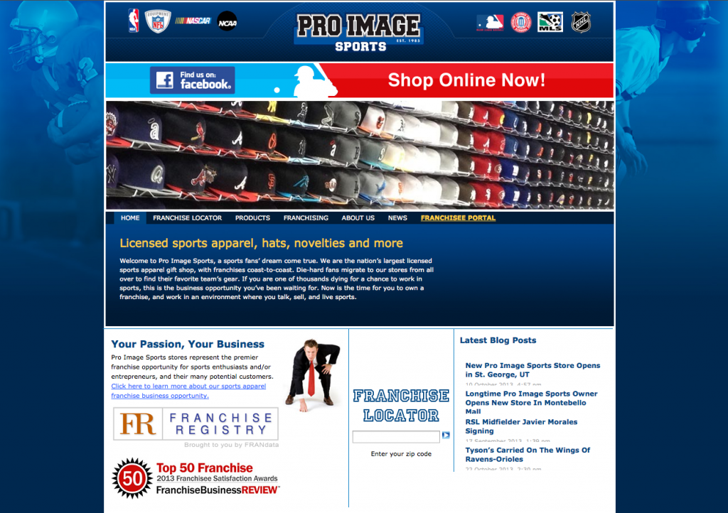 E-Commerce Site Launched
