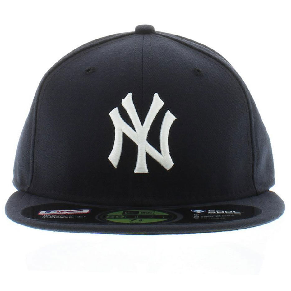 22e5cc675af Not much has changed on a New York Yankees hat in the past 100 years.