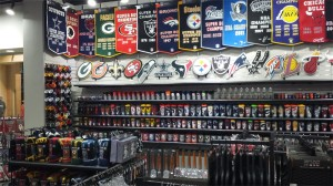 The Pro Image Sports in the Mall of Abilene has a wide variety of new novelty items customers in the area may have not seen before.