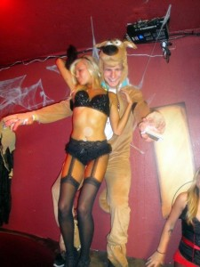 Hard to envision any of the elite quarterbacks in the NFL rocking a Scooby-Doo costume, though it appears he may be the smartest quarterback in the league...