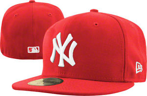 The hat that sparked a fashion revolution  a white on red New York Yankees  hat 21061ebb480