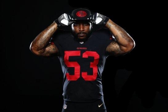 finest selection d925c 6f62c san francisco 49ers black jersey