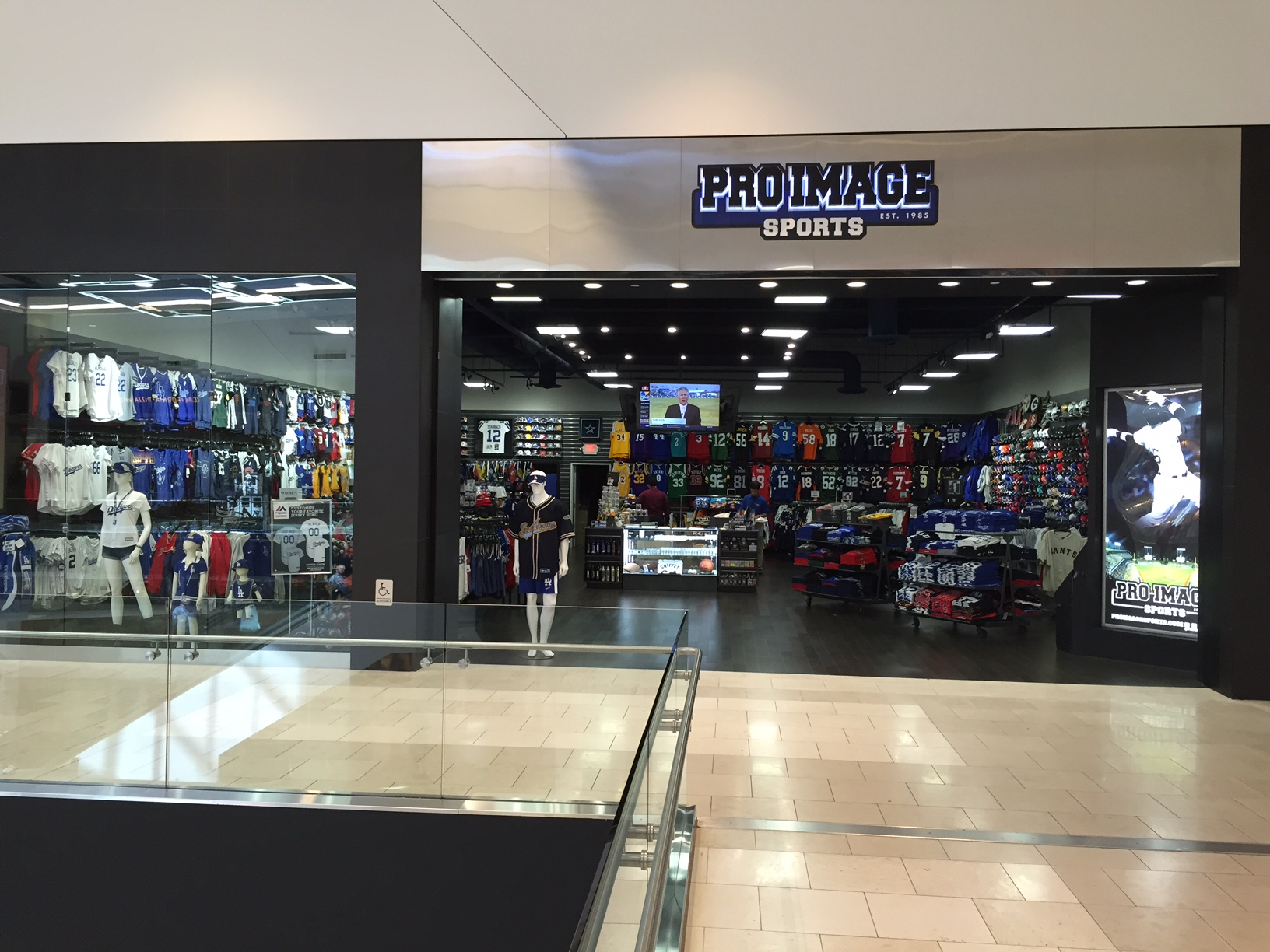 The Pro Image Sports stores owned by the Rivas Family are all immaculately  merchandised. 7972d6a5d7d6f
