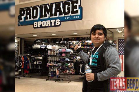 Pro Image Sports Employee Makes Texas News